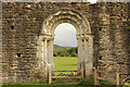SE7365 : Kirkham Priory, Refectory doorway by Richard Croft