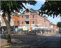 SK5838 : New building on Radcliffe Road by John Sutton