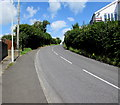 ST0482 : Bend in Cardiff Road, Llantrisant by Jaggery