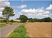 TM3795 : View along Wash Lane by Evelyn Simak