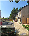 TL4856 : Cherry Hinton: new homes off Fulbourn Road by John Sutton