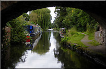 SO8999 : Canal near Newbridge, Wolverhampton by Roger  Kidd