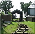 TG3406 : Loco shed at Strumpshaw Hall by Evelyn Simak