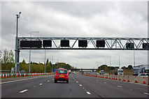 TQ5395 : M25 anticlockwise by Robin Webster