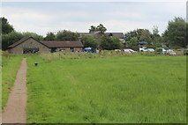 ST4286 : Meadow, Magor Marsh Nature Reserve by M J Roscoe