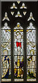 SK8748 : Stained glass window, St Martin's church, Stubton by Julian P Guffogg