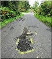 NO3508 : Road repairs needed! by Bill Kasman