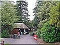 NY2623 : Refreshment kiosk, Upper Fitz Park by Rose and Trev Clough