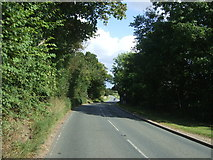 TL8146 : Looking east on Melford Road (A1092), Cavendish by JThomas