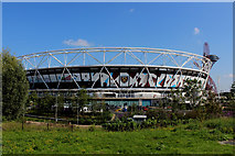 TQ3783 : London Stadium and Home of West Ham United by Chris Heaton