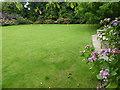 TQ7029 : Croquet lawn at Pashley Manor Gardens by Marathon