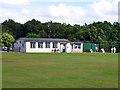 TQ5193 : Pavilion, Havering-atte-Bower Cricket Club by Robin Webster