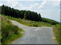 SN6750 : Forestry roads east of Llanfair Clydogau, Ceredigion by Roger  Kidd