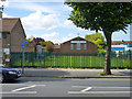 TQ5392 : Evangelical Free Church, Harold Hill by Robin Webster
