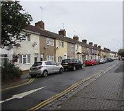 SU1585 : On-street parking, Haydon Street, Swindon by Jaggery