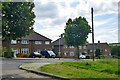 TQ5492 : Houses on Whitchurch Road, Harold Hill by Robin Webster