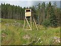 NN1147 : Look-out Tower in Glenetive Forest by wrobison