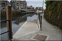 SX2553 : Slipway, River Looe by N Chadwick