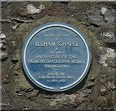 SX9364 : Blue plaque, Ilsham Manor by Derek Harper