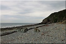 NX4235 : Dyke Remains by Andrew Wood