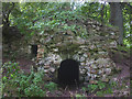 NY5540 : Ruined chamber, Kirkoswald Castle by Karl and Ali