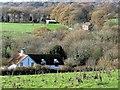 TQ6322 : Dene Cottage at southern end of Holbans Lane by Patrick Roper