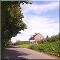 SP6339 : The edge of Biddlesden by David Smith