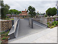 TQ2983 : Deck of the new footbridge over the Regents Canal by Stephen Craven