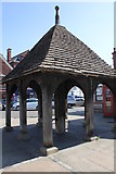 SK8608 : Pump, Market Place, Oakham by Jo Turner