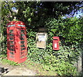 TQ5201 : Telephone Kiosk and Post Box, Litlington by PAUL FARMER