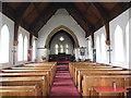 SE7155 : St John the Baptist, Stamford Bridge - interior by Stephen Craven