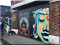 SK5839 : Street art in Sneinton Market by David Lally