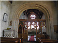 SE9755 : St Mary, Kirkburn - chancel arch and screen by Stephen Craven