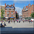 SK5739 : Across the Market Square by John Sutton