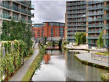 SJ8297 : Bridgewater Canal, St George's Island by David Dixon