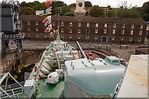 TQ7569 : HMS Cavalier - September 2017 (5) by The Carlisle Kid