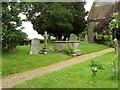 SP1766 : Churchyard, All Saints', Preston Bagot by Derek Harper