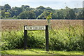 TL9062 : Newthorpe sign by Geographer