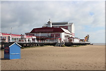 TG5307 : Great Yarmouth Britannia Pier by Oast House Archive