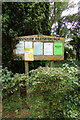 TL9162 : Rougham Church Notice Board by Adrian Cable