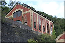 ST2198 : North winding house, Crumlin Navigation Colliery by M J Roscoe