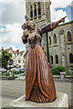 SH7782 : Queen of Hearts Statue, Llandudno by Brian Deegan