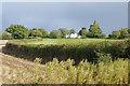 SJ6076 : Fields by Willowgreen Bridge by Stephen McKay