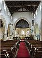 TF2258 : Interior, St Michael's church, Coningsby by Julian P Guffogg