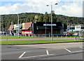 ST1675 : McDonald's, Leckwith, Cardiff by Jaggery