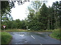TG0815 : Junction of Heath Road with the B1535 by JThomas
