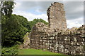 SJ5359 : Remains of the Outer Gatehouse of Beeston Castle by Jeff Buck