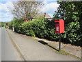 ST0880 : Queen Elizabeth II postbox, Cardiff Road, Creigiau by Jaggery