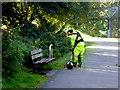 H4772 : Maintenance man, Mullaghmore by Kenneth  Allen