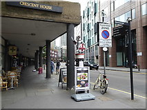 TQ3282 : City of London boundary marker in Goswell Road by Rod Allday